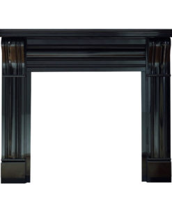 The Dublin Corbel Black Granite Surround
