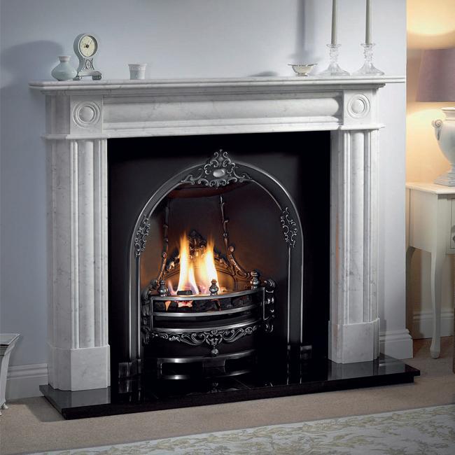 Gloucester Horseshoe Fireplace Insert (40\