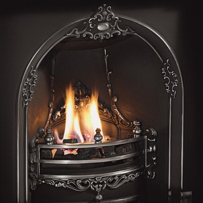 The Gloucester Horseshoe Fireplace Insert