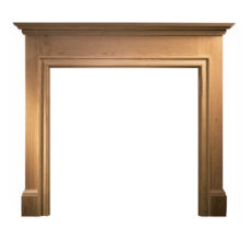 GAL054 - Howard Wooden Fireplace Surround (Solid Oak)