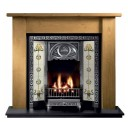GAL051 - Lincoln Wooden Fireplace Surround (2 Sizes) (Solid Pine Or Oak)