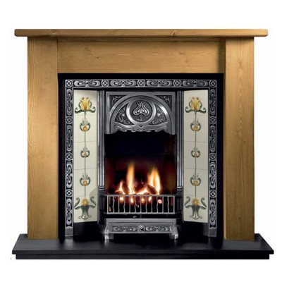 The Lincoln Wooden Fireplace Surround