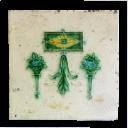 OT214 - Original Art Deco Fireplace Tiles