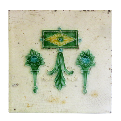 Original Art Deco Fireplace Tiles
