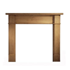 GAL053 - Worcester Wooden Fireplace Surround (Solid Pine)