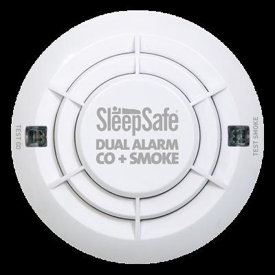 Sleepsafe Electronic Smoke & CO Detector