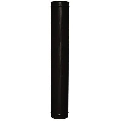 Black Enamel Carron Multi-Fuel Stove