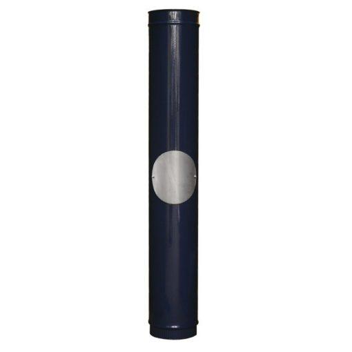Blue Enamel Carron Multi-Fuel Stove