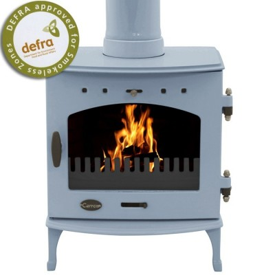 China Blue Enamel 4.7kW Carron Multi Fuel Stove