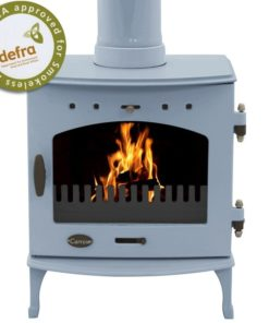China Blue Enamel 7.3kW Carron Multi Fuel Stove