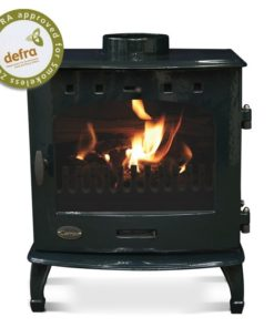 Green Enamel 7.3kW Carron Multi Fuel Stove