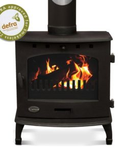 Matt Black 7.3kW Carron Multi Fuel Stove