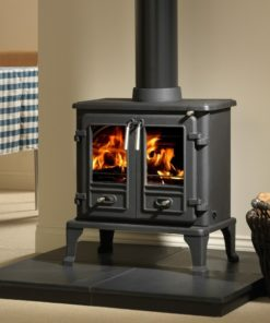 Firefox 8 Twin Door Multi-Fuel Stove