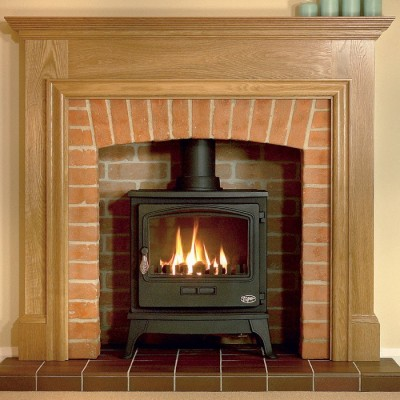 Tiger Gas Stove With Coal Or Log Effect (5kW)
