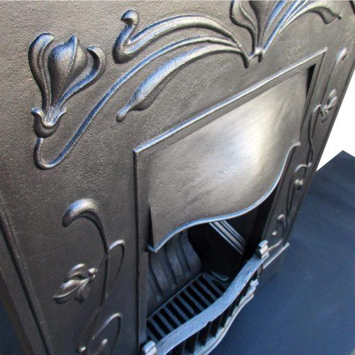 Art Nouveau Bedroom Fireplace