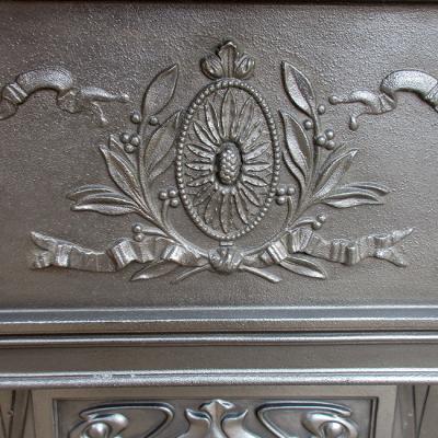 Edwardian Art Nouveau Classic Combination Fireplace