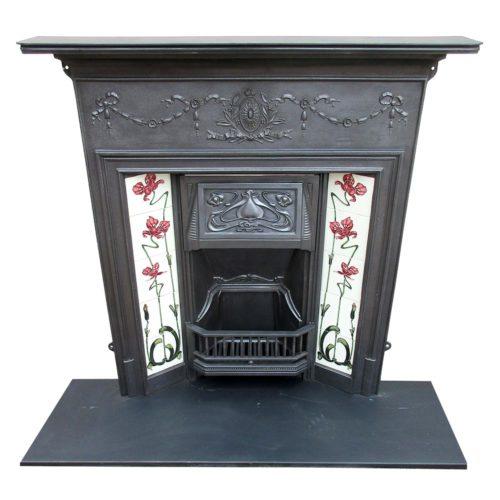 Art Nouveau Classic Combination Fireplace