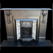 """SS100 - Art Deco Edwardian Slate Surround (47.5""""H x 56""""W)"""