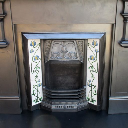Art Deco Edwardian Slate Surround