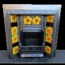 INS268 - Cast Iron Insert Fireplace (38″H x 36″W)