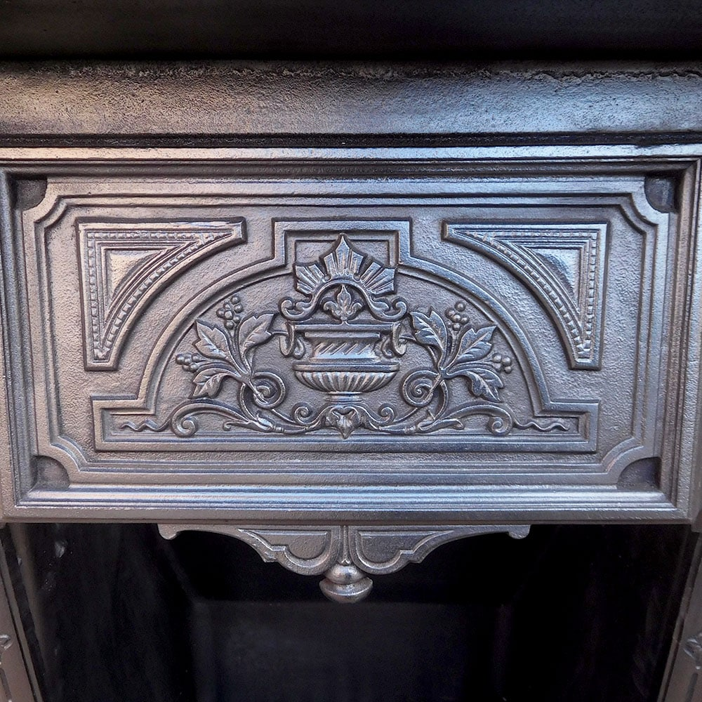 how to use cast iron fireplace