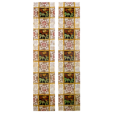 OT231 - Autumn Symmetrical Fireplace Tiles