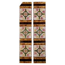 OT233 - Victorian Symmetrical Fireplace Tiles