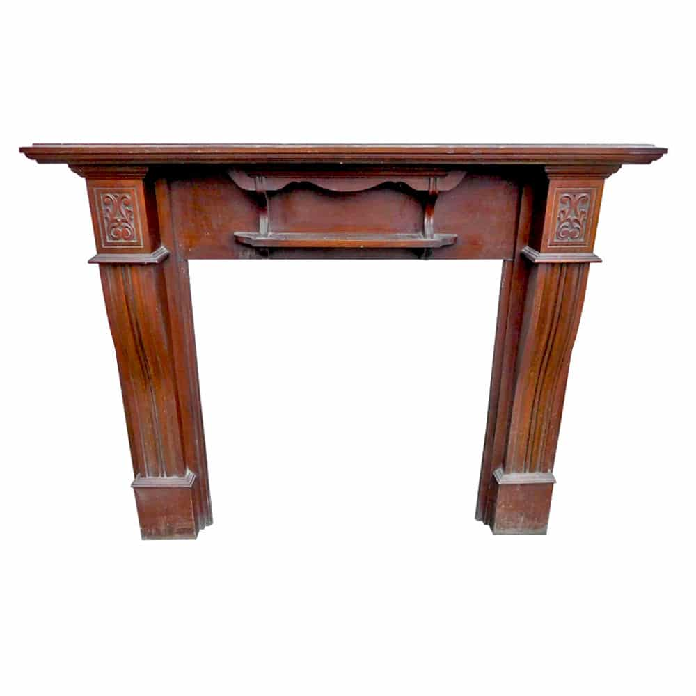 Antique Mahogany Fireplace Surround Victorian Fireplace