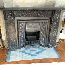 Marble Fireplace Project