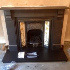 Slate Fireplace Project