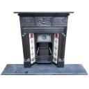"COMBI290 - Cast Iron Combination Fireplace (48.25""H x 42""W)"