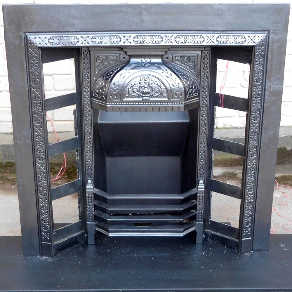 Ornate Victorian Fireplace Insert Victorian Fireplace Store