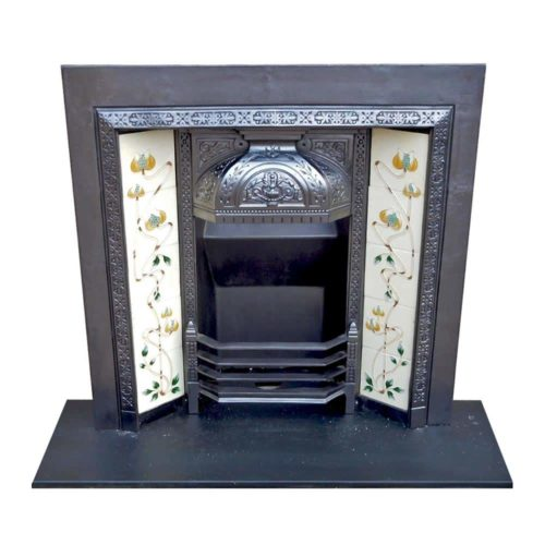 Ornate Victorian Fireplace Insert