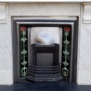 """MS009 - Antique Marble Fireplace Surround (43.5""""H x 51.5""""W)"""
