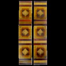 OT246 - Gold & Amber Victorian Fireplace Tiles