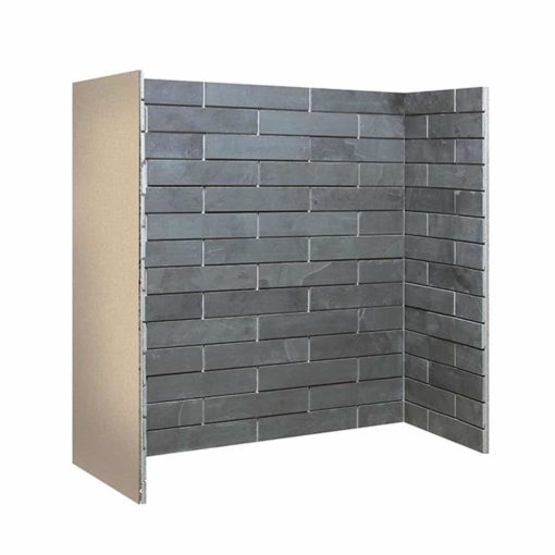 Porcelain Slate Brick Bonded Chamber