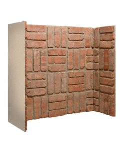Rustic Basket Weave Brick Chamber