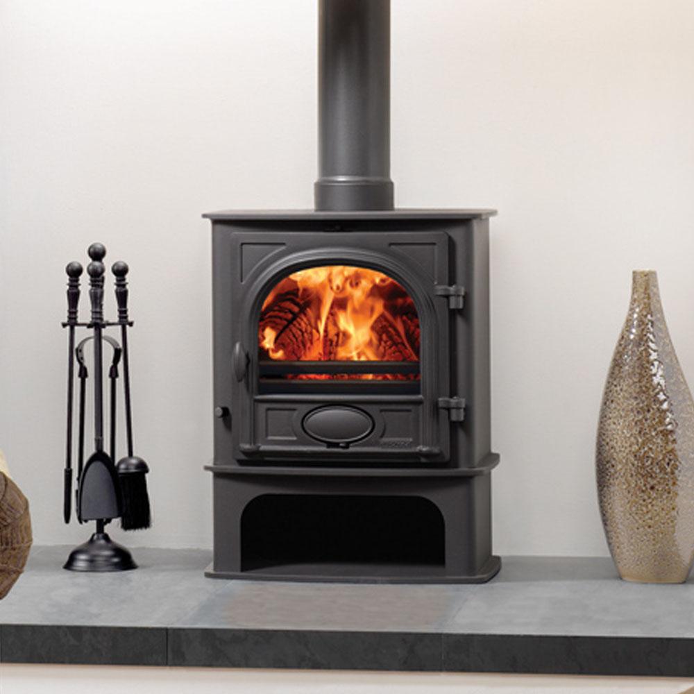 Stockton 5 Midline Stove 2 5 7kw Victorian Fireplace Store