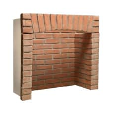 Standard Arched Brick Chamber (With Front Returns)