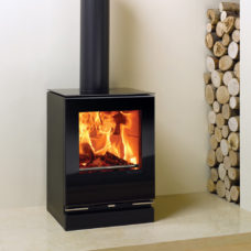 Riva Vision Small Wood Burning & Multi-fuel Stove (2-7kW)