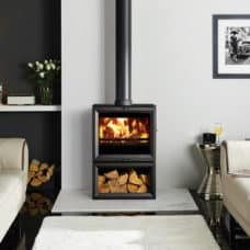 View 8 Midline Wood Burning & Multi-Fuel Stove (4-11kW)