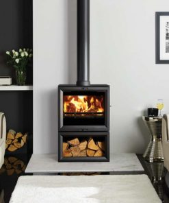 View 8 Midline Wood Burning & Multi-Fuel Stove