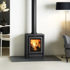 Riva F40 Freestanding Wood Burning & Multi-Fuel Stove (1.7-7kW)