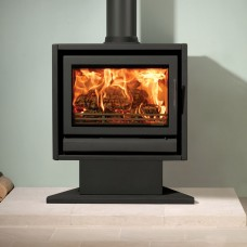 Riva F66 Pedestal Wood Burning & Multi-Fuel Stove (8.0kW)