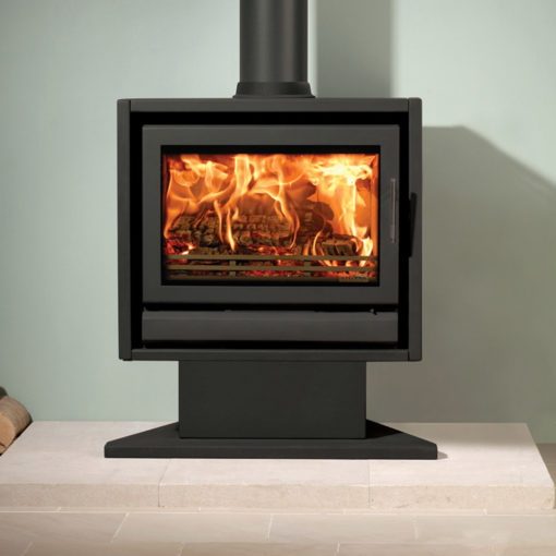 Riva F66 Pedestal Wood Burning & Multi-Fuel Stove