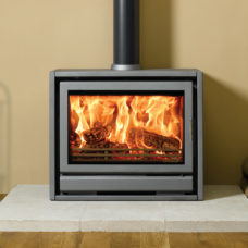 Riva F76 Freestanding Wood Burning Stove (3.2-12kW)