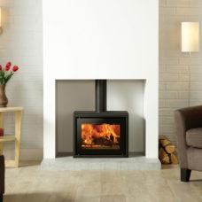 Riva Studio 500 Freestanding Wood Burning Stove (1.7-7kW)