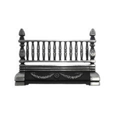 """Free Standing Cast Iron Front Bar (B21) (19""""W x 12.5""""H)"""