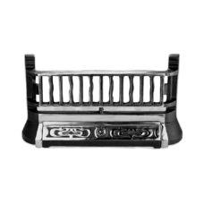 "Cast Iron Fireplace Front Bar (B26) (20.5""W x 11""H)"