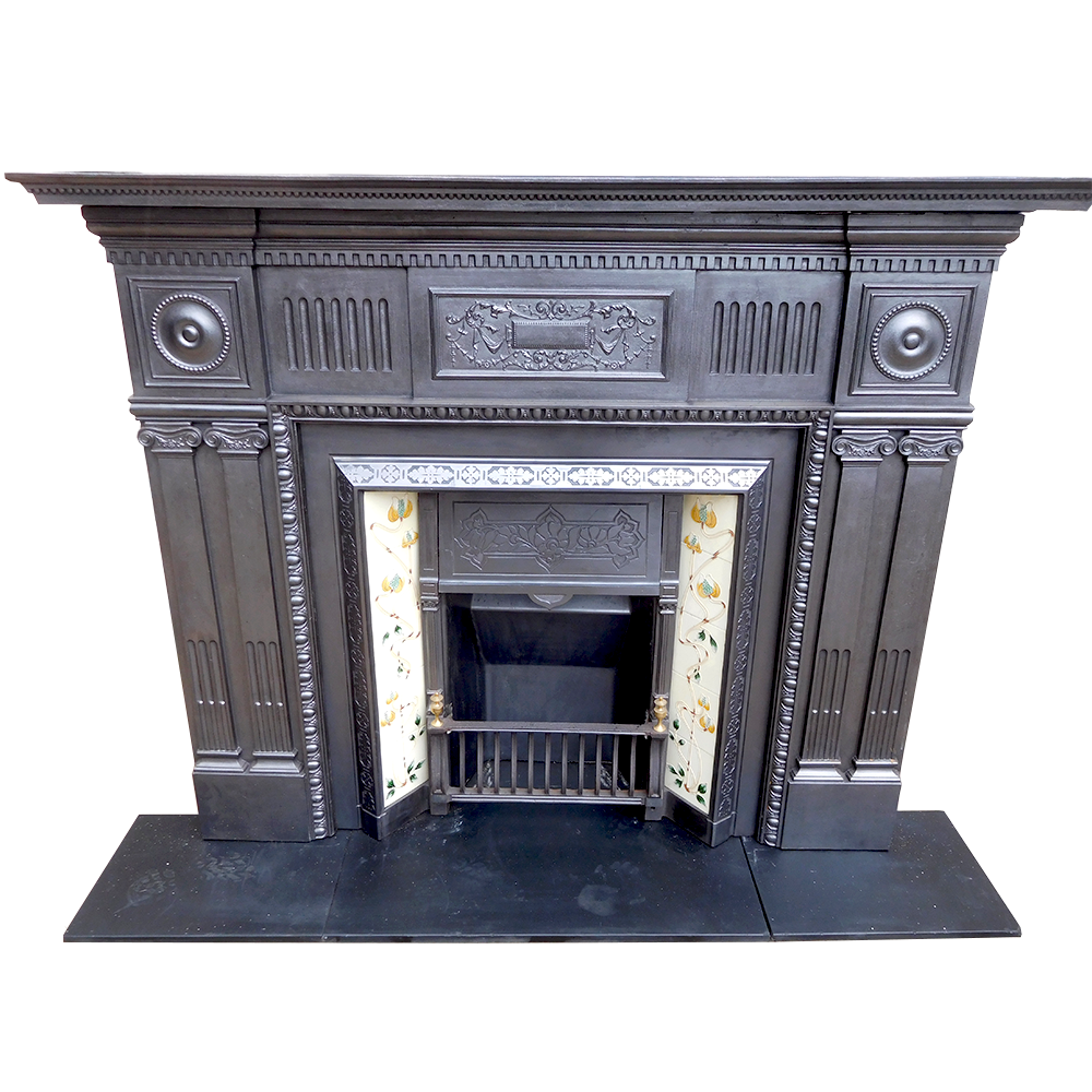 Antique Cast Iron Fireplace Surround Buy From Vfs